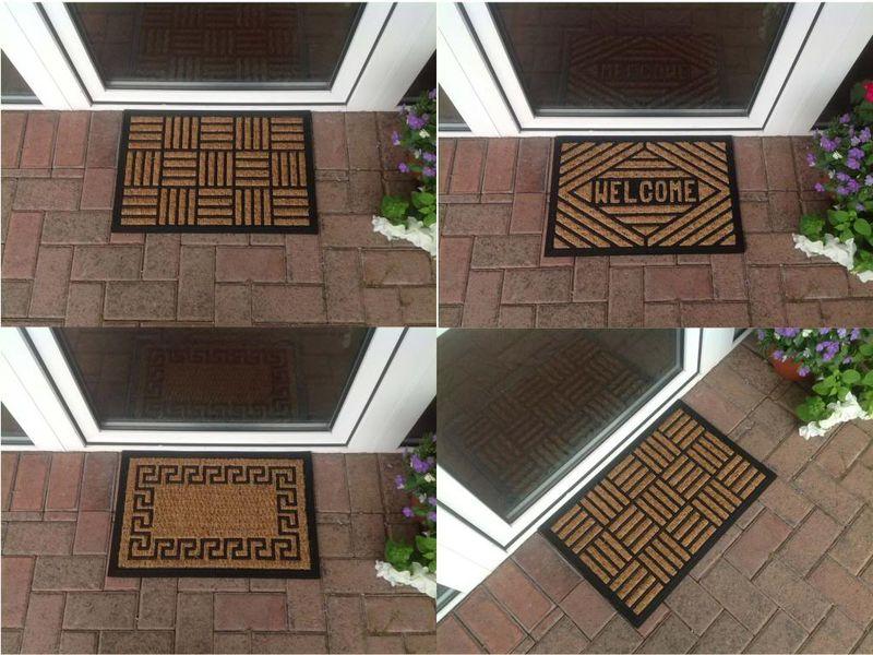 Entrance rug design