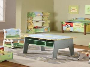 Kids room interior animal themes