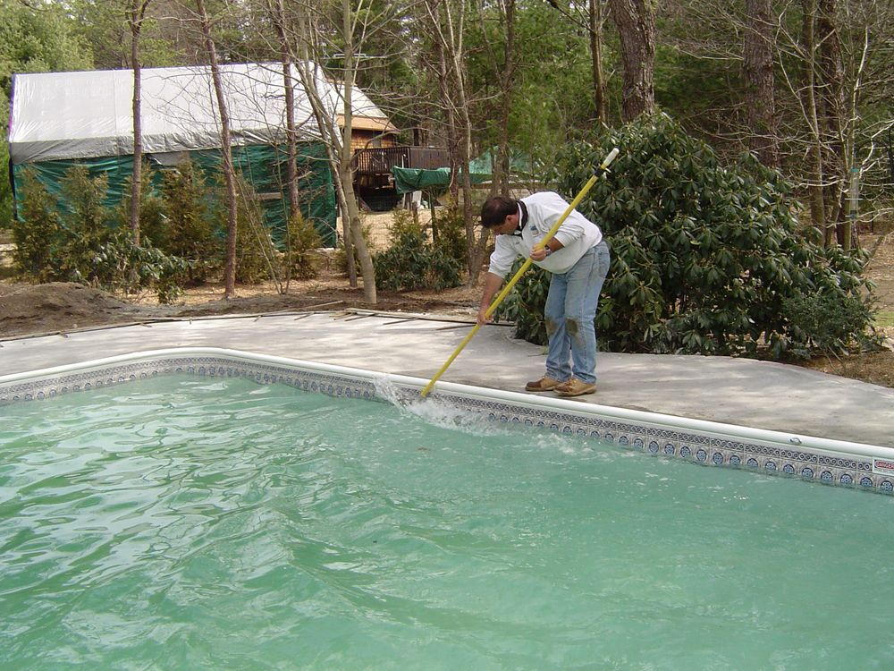 Prepare pool for winter
