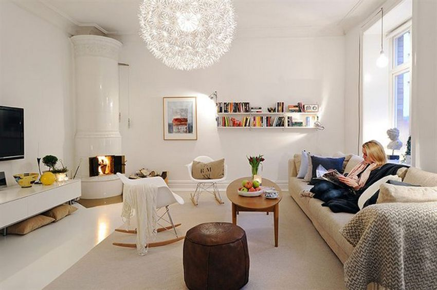 White apartment interior