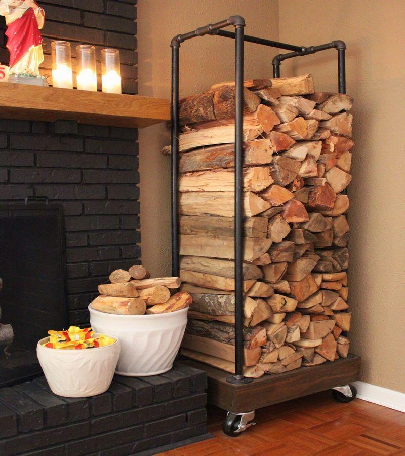 Beautiful fireplace equipment