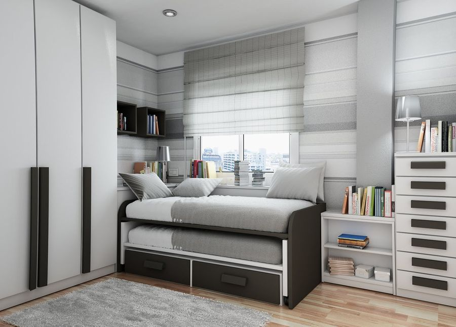Bedroom idea trundle bed
