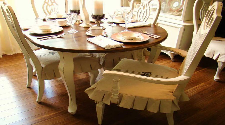 Natural Look – Living Room Chair Covers