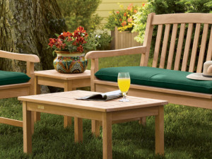 Elegant Wooden Garden Benches