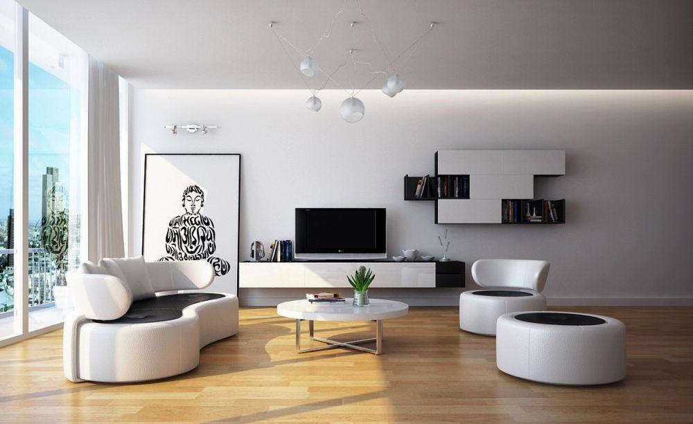 Living room modern sets