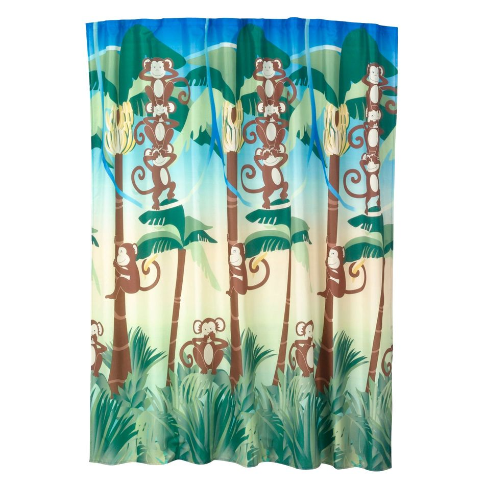 monkey shower curtain set 28 images sock monkey shower  : Monkey shower curtain from americanhomesforsale.us size 950 x 950 jpeg 123kB