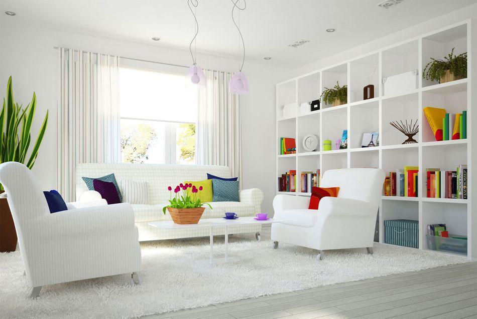 White interior desing style