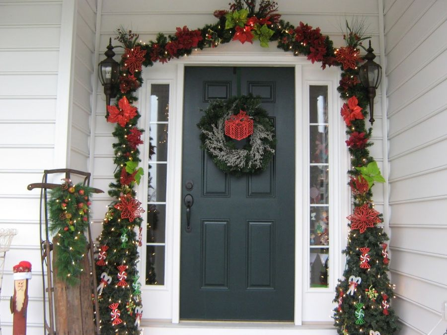 Christmas Decorating Ideas Front Yard : Finding out different front yard christmas decoration ideas