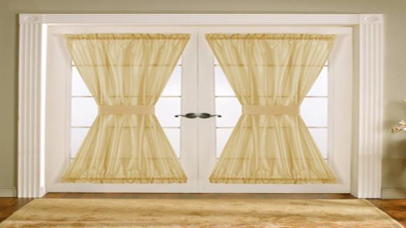 Kitchen door curtain design