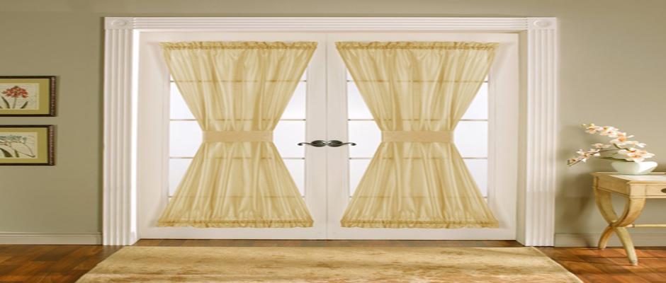 choosing the best door curtain design for kitchen