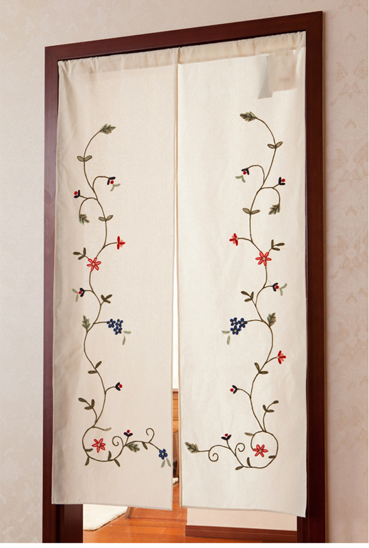Kitchen door curtain