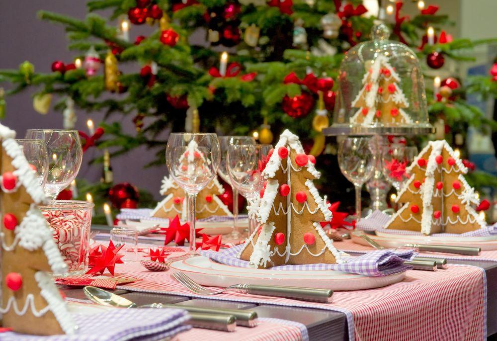 Red Christmas decoration design