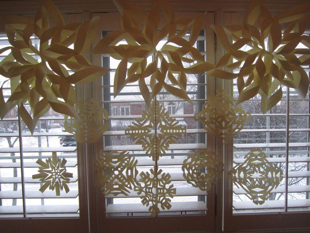 Snowflakes for children room