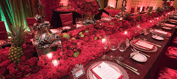Wedding reception home decorating ideas for Home wedding reception decorations