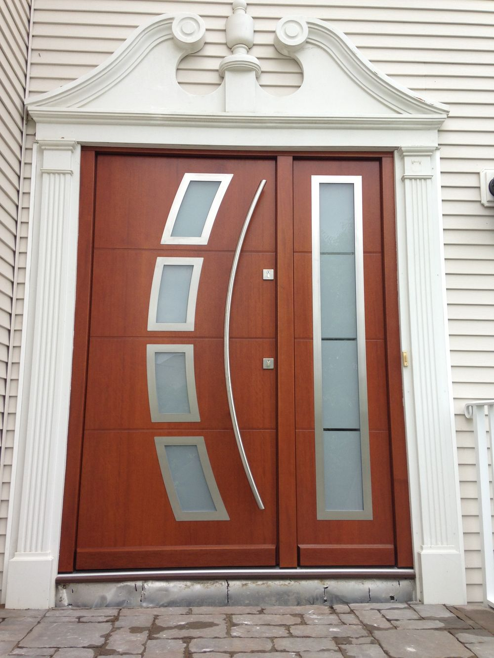 house entrance door