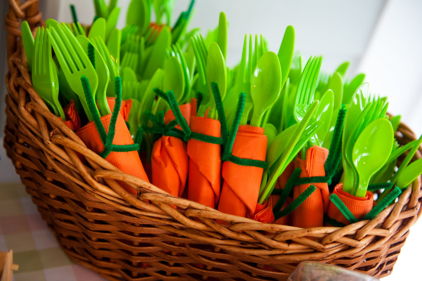 Carrot Silverware Bundles